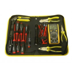 15 Pcs Electrical Tool kit with Digital Multimeter