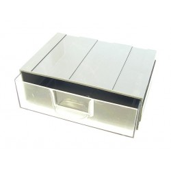 Stackable and Wall Mountable Interlocking Storage Box